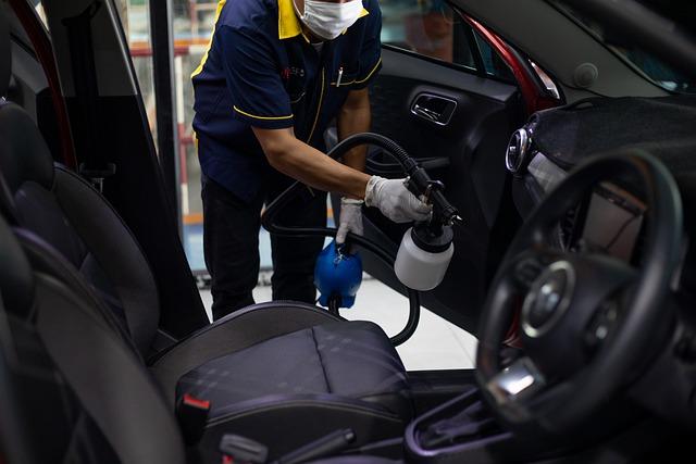 nettoyage intérieur voiture